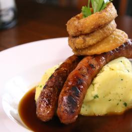 The Royal Tankerton - Sausage & Mash